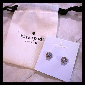 Kate Spade Lady Marmelade Rose Gold Stud Earrings